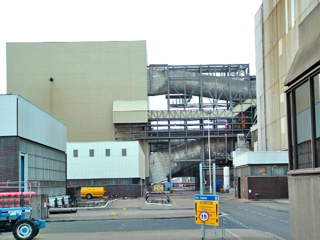 Drax Power Station FGD Building