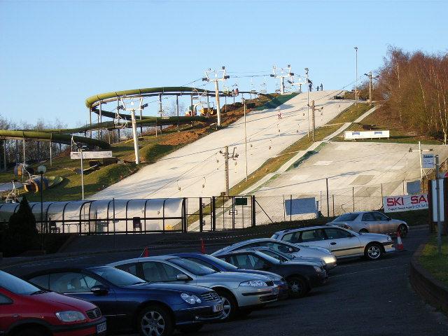 The dry ski slope, Bracknell