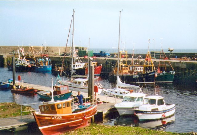 The harbour at Helmsdale