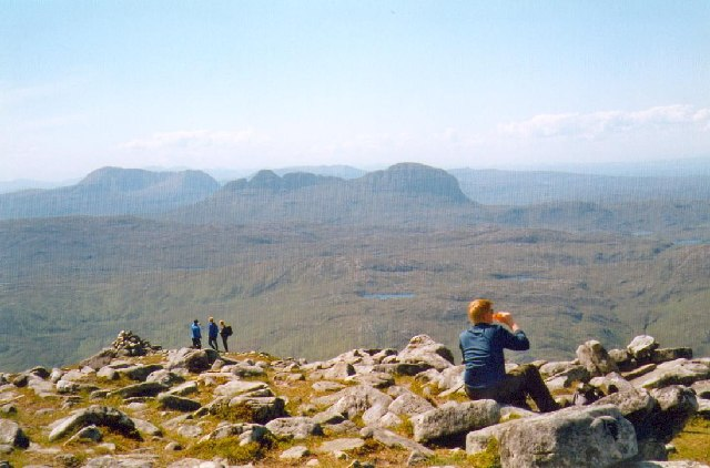 Summit of Spidean Coinich on Quinag.