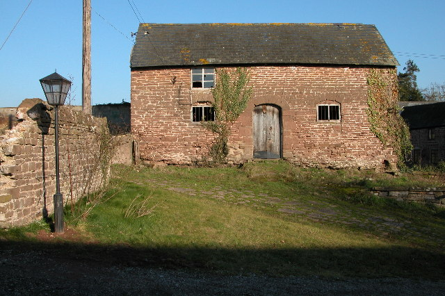 Old farm building at Langstone Court