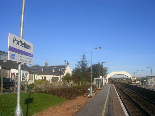 Portlethen Railway Station