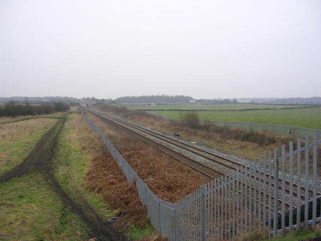 Railway Line by Engine Lane
