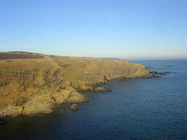 Cliffs at Cammachmore Bay