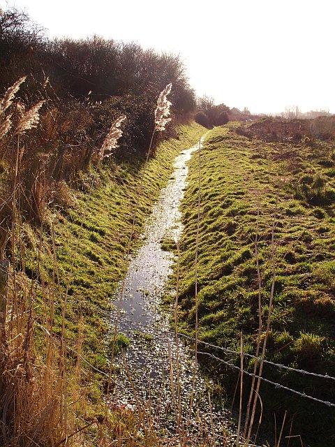 Parish boundary, Lower Halstow