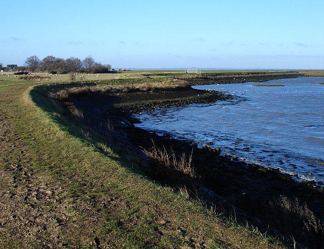 Saxon Shore Way near Twinney