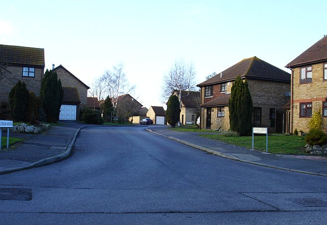 New housing in Lower Halstow