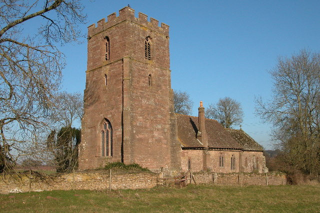 St Dubricius church, Hentland
