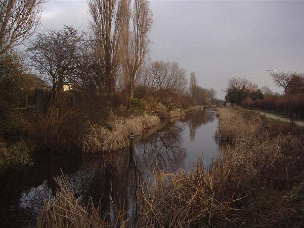 The Remains of the Grantham Canal at Lady Bay, West Bridgford