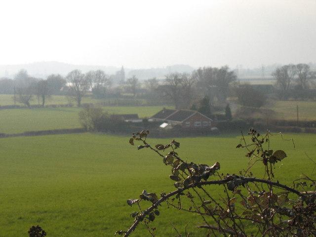 Fields from Hempsted village