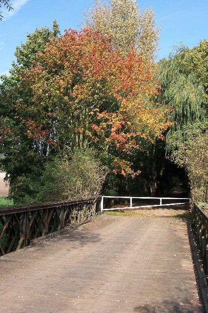 Bridge Over River Lee, Amwell Quarry