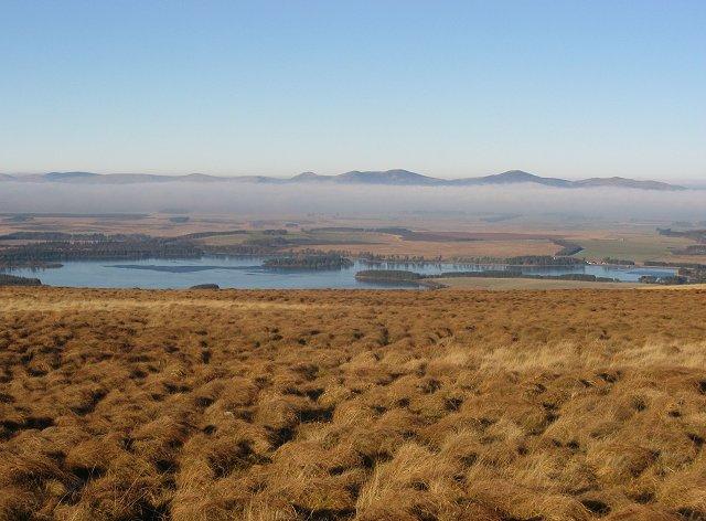 Pentlands from Mauldslie Hill