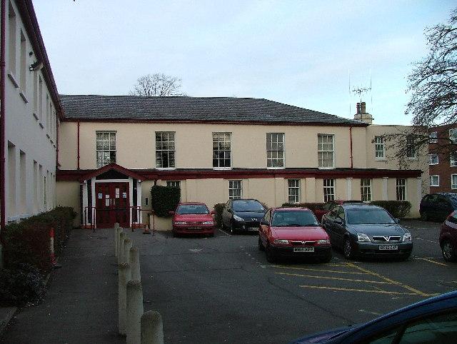 Hitchin Register Office.