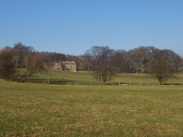 Across pastures to Gammersgill