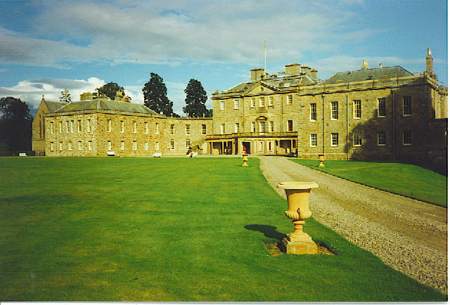 Haddo House, Chapel and West Front.