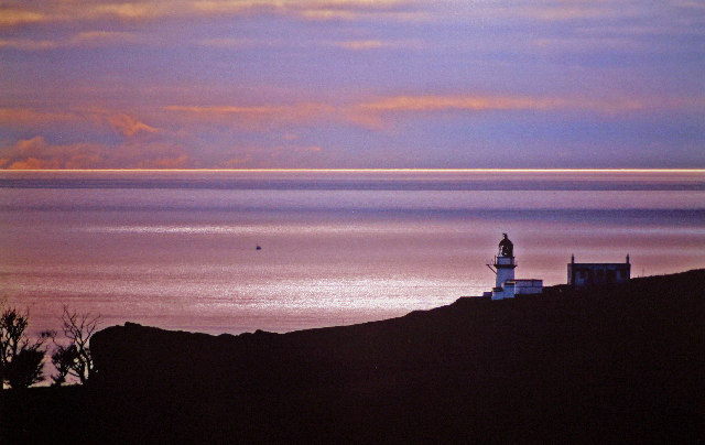 Sunset at Todhead Lighthouse