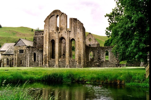 Valle Crucis Abbey, Denbighshire, Wales