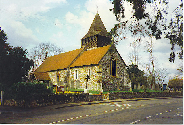 West Clandon Parish Church.