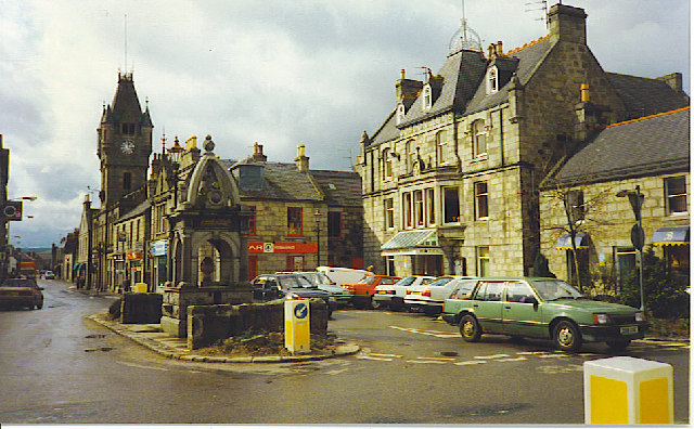 Gordon Square, Huntly.