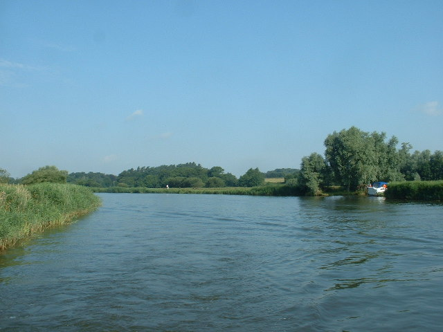 River Waveney near Lowestoft