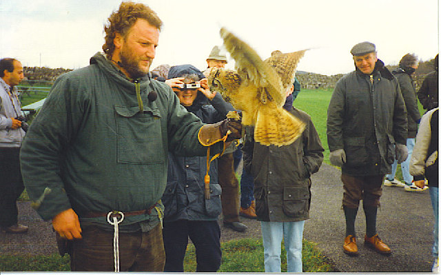A Bird in the Hand! - the North-east Falconry Centre.