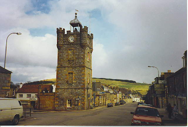 The Tower, Dufftown.