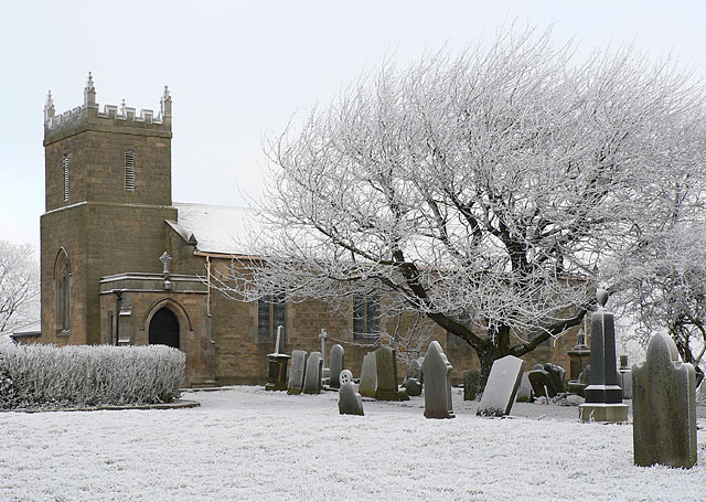 Horton Parish Church, Northumberland