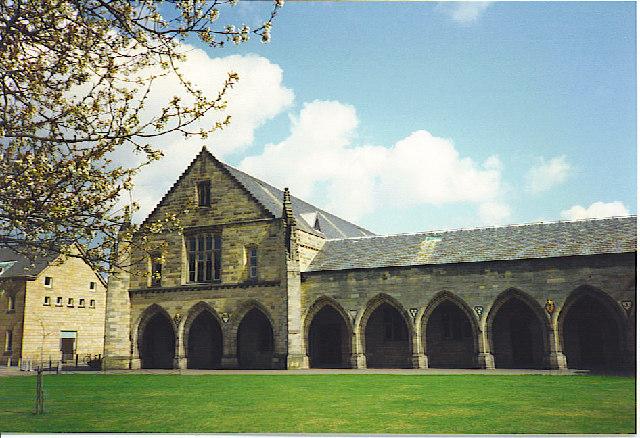 Elphinstone Hall, King's College, Aberdeen.