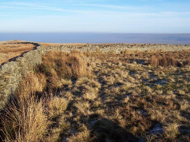 Boundary Wall on Horsehouse Moor