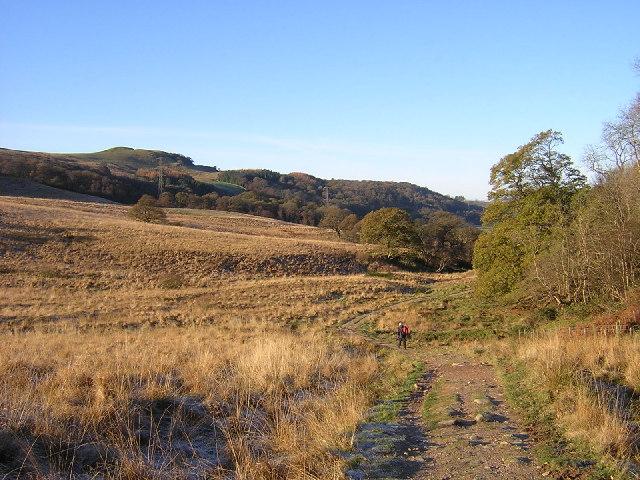West Highland Way Near Dumgoyach