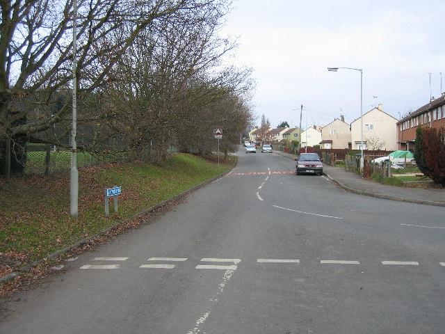 Matson Lane Looking North