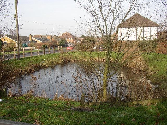 Pond, South Lane, Ash, Surrey