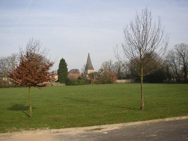 Recreation ground off Grange Road, Ash, Surrey