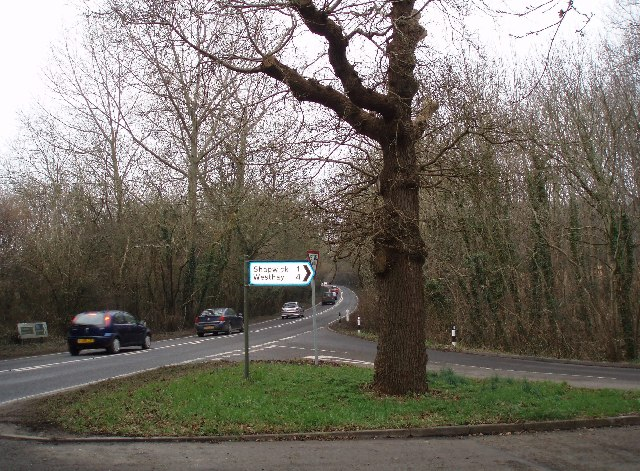 Road Junction on the A39