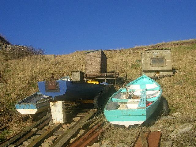 Boats at Portlethen