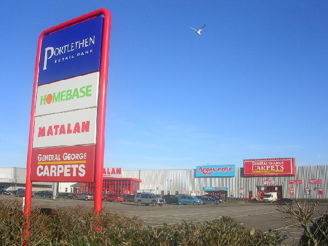 Portlethen Retail Park
