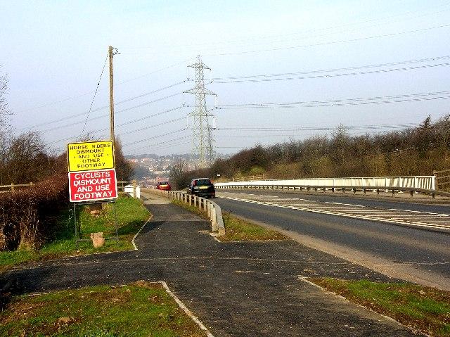 Motorway Bridge near Whiston, Rotherham