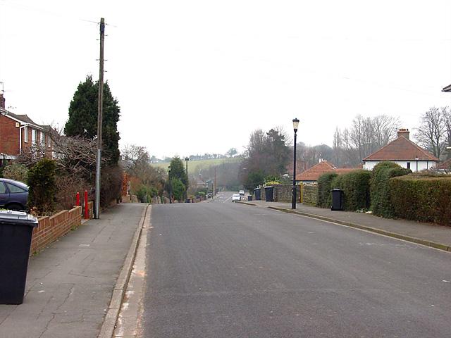 Brentry Lane, looking north