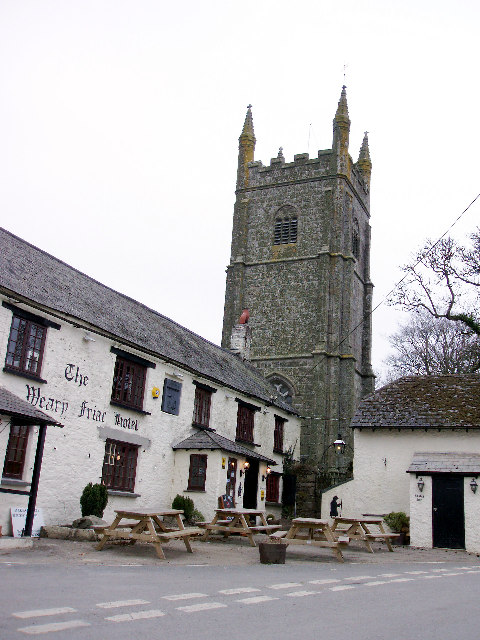 St Odolphus' Church and Weary Friar Hotel