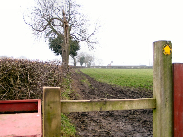 Stile near Cottage Farm