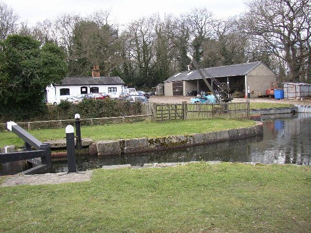 Canal Depot, Aldershot, Hampshire
