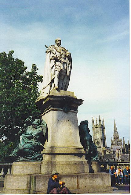 Edward VII Statue, Aberdeen.