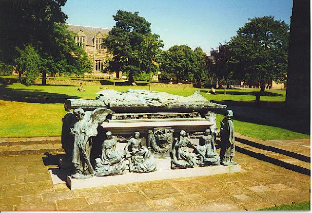 Bishop Elphinstone's Sarcophagus.