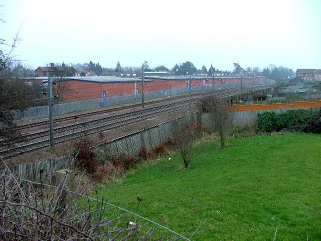 "Site of ""Silkingrad"" railway station."