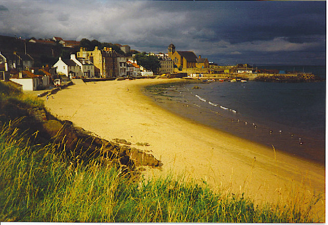 Kinghorn Beach.