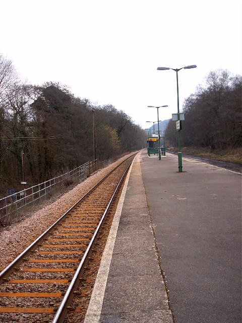 Treforest Estate railway station