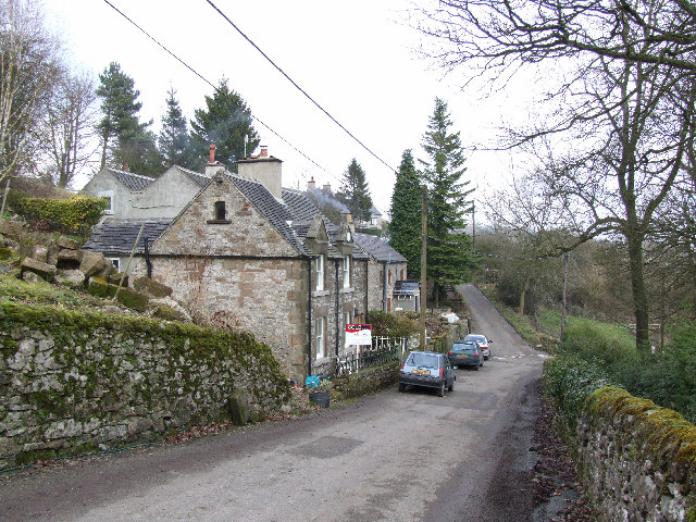 The village of Slaley