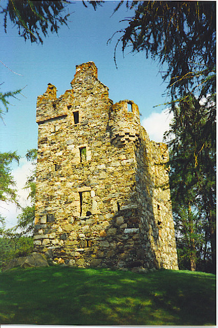 Knock Castle in Summer.