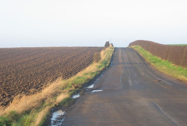 Ploughed field, Chapel.