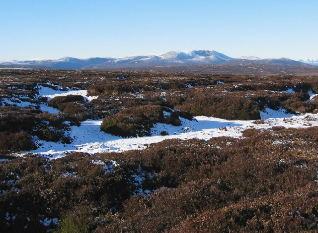 Peat Hags on Hill of Doune